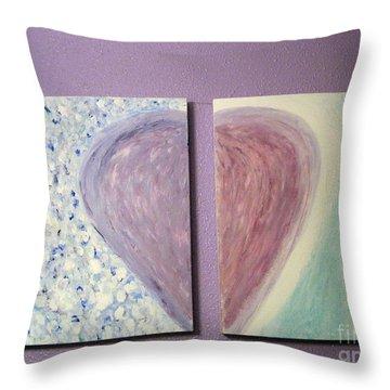 Soul Mate Heart Throw Pillow