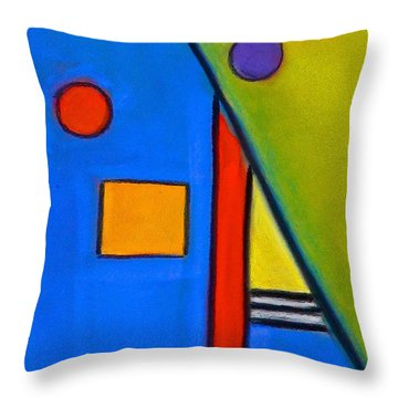 Throw Pillow featuring the drawing Soul Mates by Dan Redmon