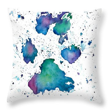 Soul Print Throw Pillow
