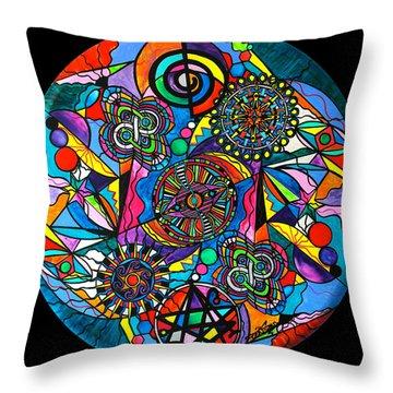 Soul Retrieval Throw Pillow