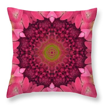 Soul Sister Mandala Throw Pillow