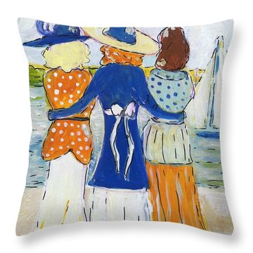 Soul Sisters I Throw Pillow