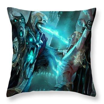 Soulfeeder Throw Pillow