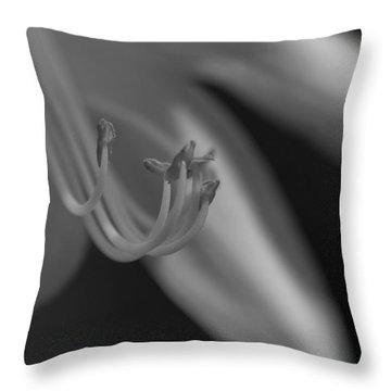 Soulless Bloom Throw Pillow