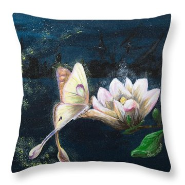 Soul's Essence Throw Pillow