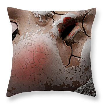 Souls Of Porcelain  Throw Pillow