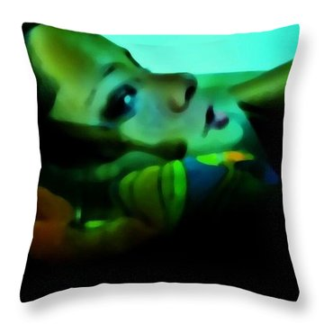 Soused Throw Pillow by Jessica Shelton