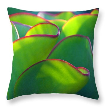 South African Beauty Throw Pillow