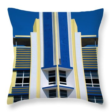 South Beach 2 Throw Pillow