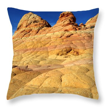 South Coyote Buttes 4 Throw Pillow by Bob Christopher