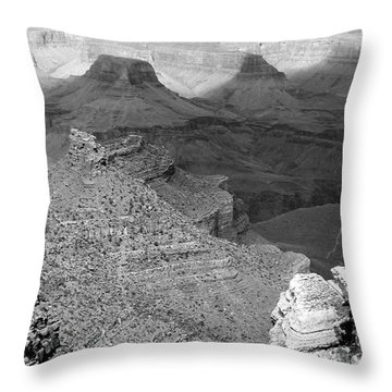 South Rim Throw Pillow by George Mount