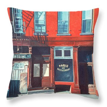 South Street Throw Pillow by Anthony Butera