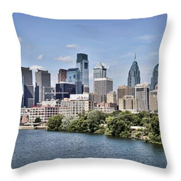 South Street View Throw Pillow
