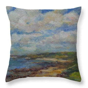 South To The Cape Throw Pillow