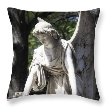 Southern Angel I Throw Pillow
