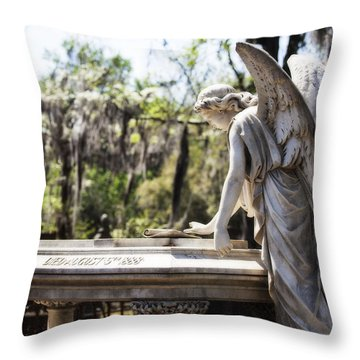 Southern Angel II Throw Pillow