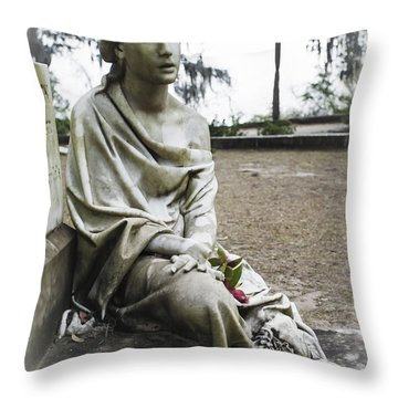 Southern Angel Iv Throw Pillow