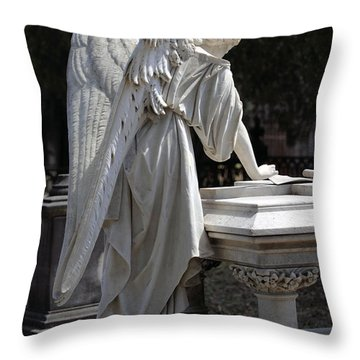 Southern Angel V Throw Pillow