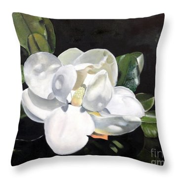 Southern Beauty 2 Throw Pillow