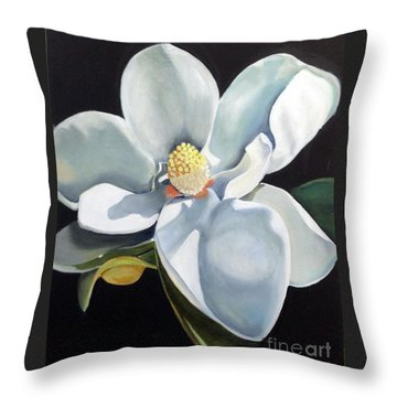 Southern Beauty 3 Throw Pillow