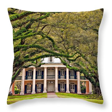 Southern Class Throw Pillow