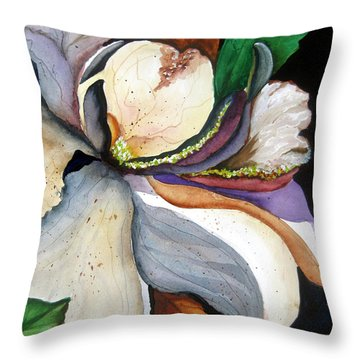 White Glory II Throw Pillow