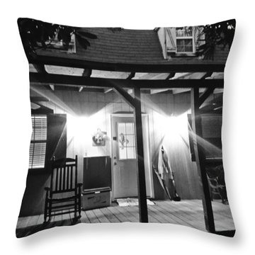 Southern Hospitality Throw Pillow