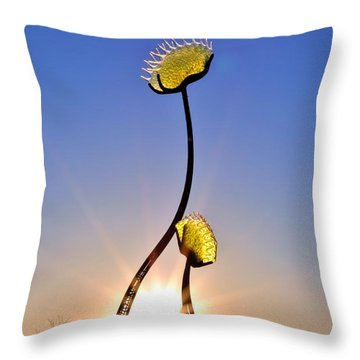 Southern Hospitality Sculpture Throw Pillow