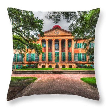 Southern Life Throw Pillow