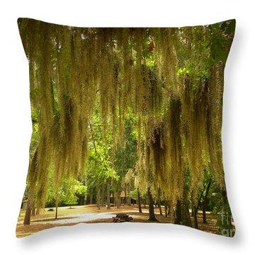 Southern Summer Throw Pillow