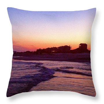 Southern Waters I Throw Pillow
