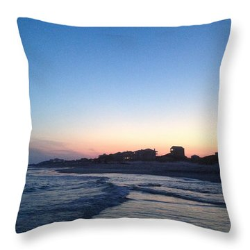 Southern Waters II Throw Pillow