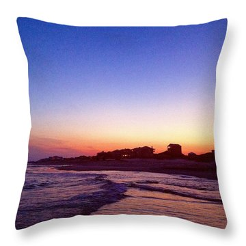 Southern Waters IIi Throw Pillow