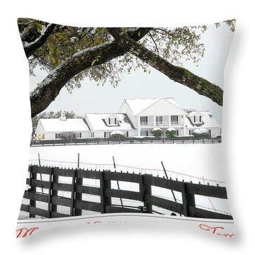 Southfork Christmas Throw Pillow