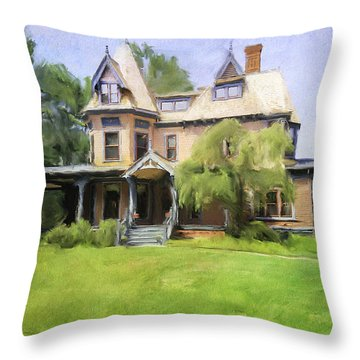 Southport Victorian Throw Pillow