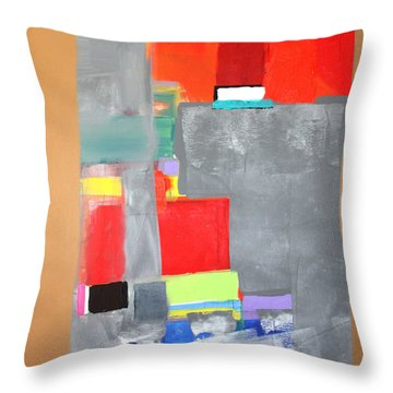 Southwest Abstract Throw Pillow