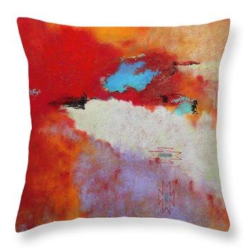 Southwest Color Burst Throw Pillow
