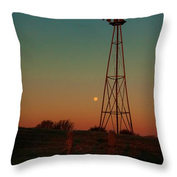 Southwest Morning Throw Pillow by Robert Frederick