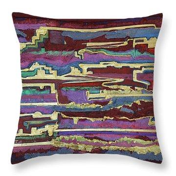 Southwest Passages Throw Pillow