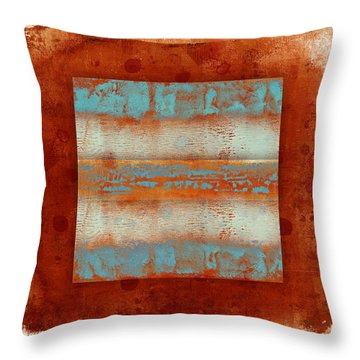 Southwest Sunset 2 Throw Pillow