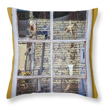 Souvenir Store Window Throw Pillow by Elena Elisseeva
