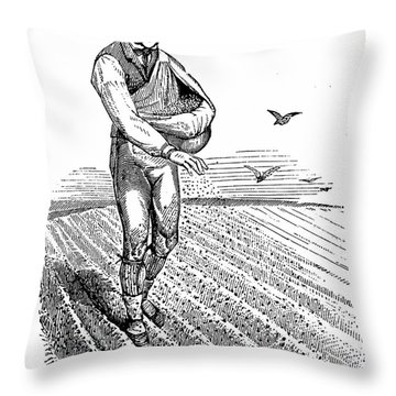 Crop Rotation Throw Pillows