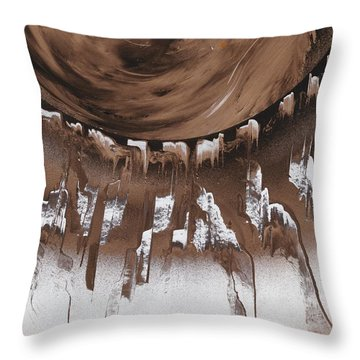 Space Keys Throw Pillow