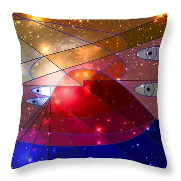 Space Odyssey 08 Throw Pillow