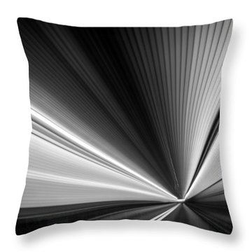 Throw Pillow featuring the photograph Space-time Continuum by Mihai Andritoiu