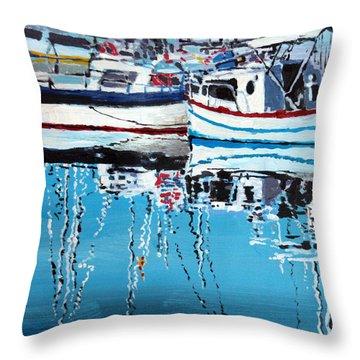 Port Throw Pillows