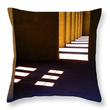 Spanish Arches Light Shadow Throw Pillow