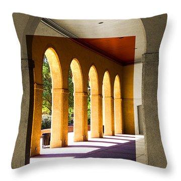 Spanish Arches Throw Pillow