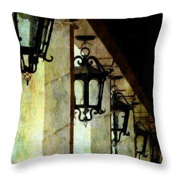 Spanish Lights Throw Pillow