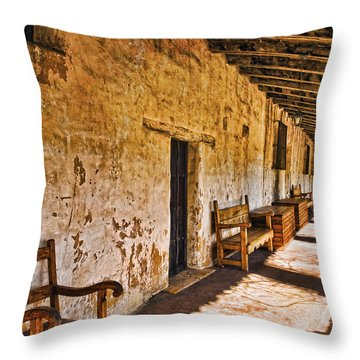 Spanish Passage Throw Pillow